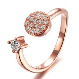 Woman silver ring items crystal ring spot single ring wedding vintage new arrival woman open rings