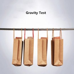 15x21cm+8cm 30pcs Colorful Kraft Paper Standing Rope Handle Packaging bags  Multicolor Thicken Clothing Gift Wedding Shopping Kraft Pouches