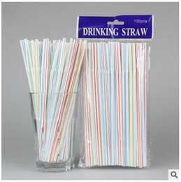 2018 new drink dispenser globe bar 100pcs colorful straws or baby shower wedding party kids birthday decoration supplies plastic drinking