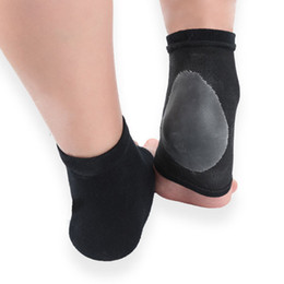 FLITFOOT Moisturizing Heel Socks Gel Lined Toeless Spa Socks to Heal and Treat Dry, Cracked Heels While You Sleep