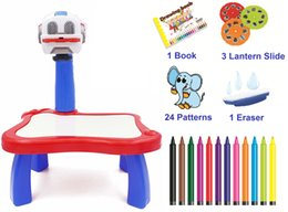 Popular Projector for children high technology Learning painting with Water Pens Colorful Markers Draw Projector to Improve the intelligence