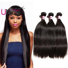 UNice Hair Virgin 8A Grade Peruvian Straight Bundles 5 Bundles Unprocessed Remy 100% Human Hair Extensions Wholesale Cheap Silk Hair Weaves