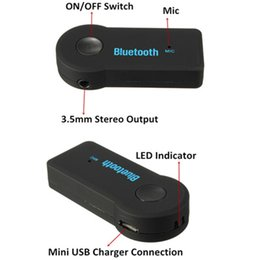Bluetooth wireless FM transmiter modulator Car kit mp3 Music Audio Stereo player Radio Adapter for Car AUX IN Home Speaker MP3