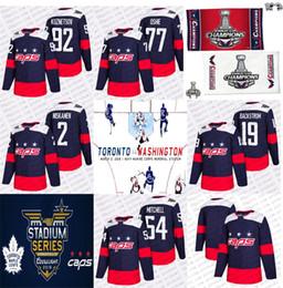 2018 Stanley Cup Champion Evgeny Kuznetsov Stadium Series Hockey Jersey Washington Capitals T.J. Oshie Niskanen Mason Mitchell 19 Backstrom