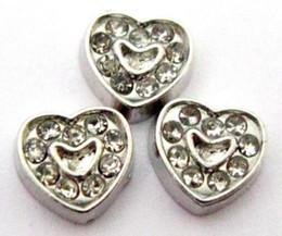 (20,50)PCS lot Rhinestones Heart DIY Alloy Floating Locket Charms Fit For Magnetic Living Memory Locket Pendant Fashion Jewelrys