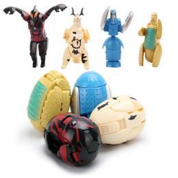 Wholesale - deformed eggs Puzzle toys twist eggs Monster eggs ,4 styles per set