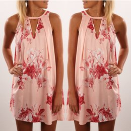 polular Europe and America 2018 summer new print loose dress vestido para mujer falda
