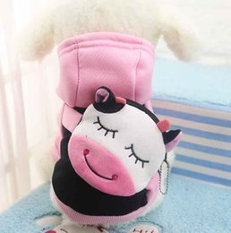 2018 Top Fashion New Cartoon Pet Dog Clothes for Small Dogs Soft Pet Sweater Clothing Coats, Jackets & Outerwears Classic Xs-xxl