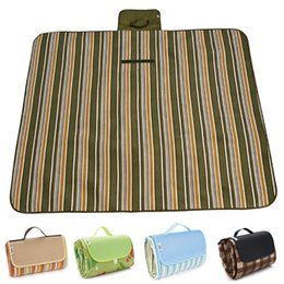 Waterproof foldable outdoor camping mat wide picnic mat beach blanket baby more visitors thicker mat