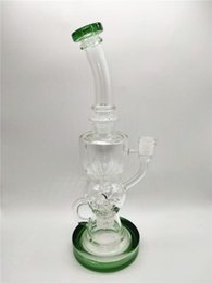10.8 Inch Bong Glass Water Pipe Dab Rig Bend Waterpipe Ice Oil Rig Manufacturer with Low Price