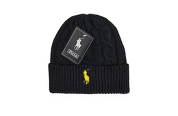 Hot Sale Beanies with pom in stock men beanie hats,women knitted caps GC