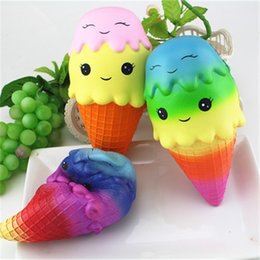 22cm Starry Exquisite Fun Ice Cream Scented Squishy Charm Slow Rising Simulation Kid Toy Slow Rising Random Color Toys