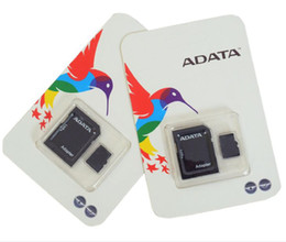 2020 ADATA 128GB 64GB 32GB Class 10 128GB TF Memory SD Card C10 TF Memory Card with Free SD Adapter Retail Blister Package DHL Free shipping