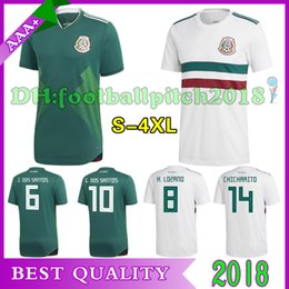 AAA+ TOP Quality 2018 world cup Mexico soccer Jersey home away soccer Shirt CHICHARITO Customized Mexico International team football uniform