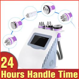 5 in 1 RF Skin Lifting Firming Ultrasonic Liposuction Cavitation Vacuum Body Shape Slimming Machine