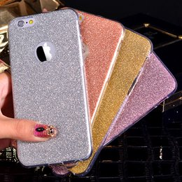 Slim Glitter Bling Cute Candy Crystal Soft Gel TPU Transparent Shockproof Protective Back Cover Case For iPhone XS Max XR X 8 7 6 6S Plus 5
