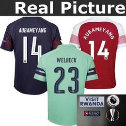 OZIL 10 TOP Best Arsenal 2018-2019 adult home away WELBECK 2 AUBAMEYANG soccer jersey Europa League 18 19 football kit set jersey
