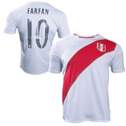 New peru Home Shirt 2018 soccer jersey 18 19 Paolo Hurtado Trauco Renato Tapia Andre Carrillo Raul Christian peru jersey custom jersey
