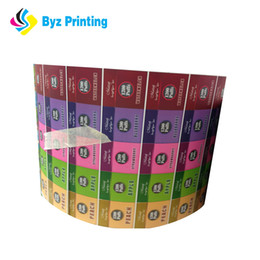 colorful adhesive label,customized self adhesive rolled labels and stickers