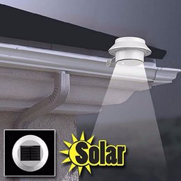 3 Bright LED Garden Led Solar light Outdoor Waterproof Garden Yard Wall Pathway Lamp For Driveways outdoor parties