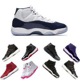 Gym Red Bred Concord2018 cheap shoes PRM Heiress men women Basketball Shoes midnight navy sports Sneaker size US7-12