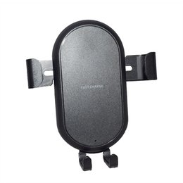 Fast Wireless Car Charger Holder Mount for iPhone X iPhone 8 8 Plus car wireless charger