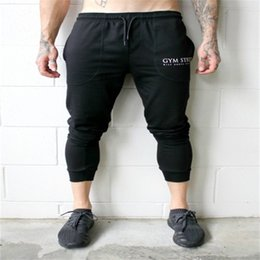 Men fashion Gyms Pants Men Fitness Workout Pants skinny Sweatpants Trousers Jogger Pants