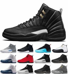 2018 New 12 Men basketball shoes 12s mens Designer The Master UNC Flu Game taxi gamma Brand sports sneaker Mens trainers Shoes