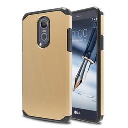 tpu+pc slim armor combo case for lg stylo 4 v30 G7 ThinQ K10 2018 CV3 X Power 2 LV7 shockproof back hard cover