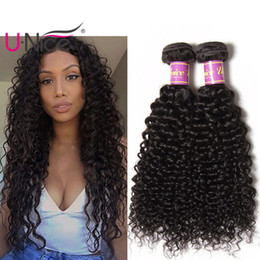 UNice Hair Peruvian Curly Wave 3 Bundles Human Hair Weaves Bundle 100% Virgin Human Hair Extensions Wholesale 8-26inch Bulk Cheap