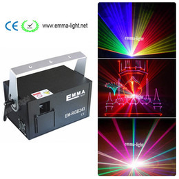 2w RGB animation analog modulation laser light show  DMX,ILDA laser disco light  stage laser projector