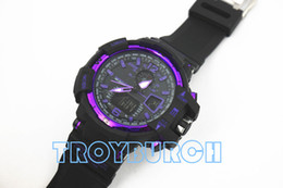 Nuevos relojes deportivos para hombres, relojes de pulsera con cronógrafo LED, reloj militar, reloj digital, buen regalo para hombre, envío directo