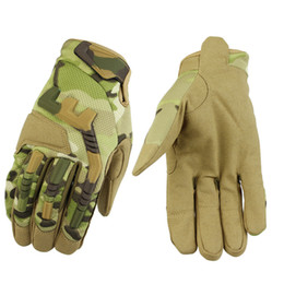 2018 New Refer All Tactical Gloves Bike Sports Outdoor Fitness Mountaineering Non-slip Gloves