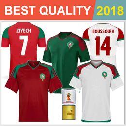 high quality Morocco hot sale Quality Thai Edition 2018 World Cup soccer jerseys 18 19 Morocco EL AHMADI BENATIA football shirt