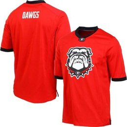 Factory Outlet- Dawgs Jersey,Georgia Bulldogs Fashion NCAA College Football Jerseys,2015 New Style Cheap Jerses,Hot Printed Embroidery logos