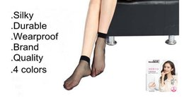 High Quality Women's Ladies Nylon Ankle Elastic Short Socks Stockings Casual Low Cut Transparent Sheer Socks Hosiery Summer