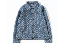 MA-1 Men's Denim jacket purified cotton Fashion Designer Slim Motorcycle Causal Mens Denim Hip Hop Men Denim Y 3 jacket