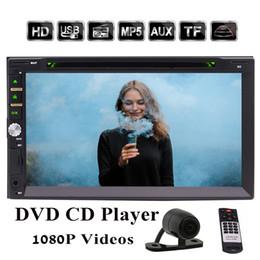 EinCar Double Din Touch Screen Car dvd Stereo In-Dash Headunit Bluetooth 7'' Car Radio Receiver CD DVD MP3 MP4 Player FM AM Autoradio