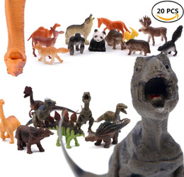 Animal Figure,20 Realistic Animal Toy Figures by Educational Toys, Realistic Wild Vinyl Animal For Boys Girls Kids