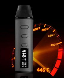 Authentic LVsmoke Flash Kit 2-In-1 Dry Herb Vaporizer Herbal Wax Pen 1600mah Dabber Ceramic Atomizers 0-446F Fast Heating 2018 cheap vape