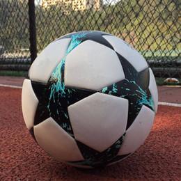 2012-2017 European champion league Soccer ball PU size 5 balls granules slip-resistant football Free shipping high quality football ball.