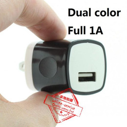 High Quality Candy Colorful US Plug USB Power Wall Home Travel Charger Adapter For iPhone 7 6 6S Plus