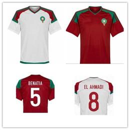 high quality Morocco hot sale Quality Thai Edition World Cup soccer jerseys 18 19 Morocco EL AHMADI BENATIA soccer jerseys