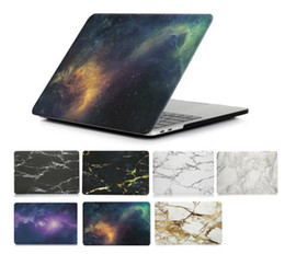 New Marble Starry sky Galaxy Hard Case or 2018 New Macbook 13.3 Air Pro Touch Bar 15.4 Pro Retina Laptop Full Protective Cases