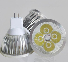 DC 12V LED Spot light 4X3W GU5.3 MR16 led lamp bulb Spotlight Free Shipping