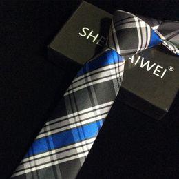 1200 Needles 7cm ties for men high quality gravatas jacquard wedding necktie Slim corbatas hombre 2017 new Business