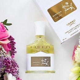 De calidad superior 75 ml Creed Aventus para su perfume para mujeres con alta duración alta fragancia de buena calidad
