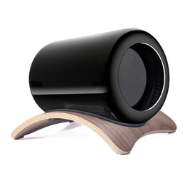 SAMDI Wooden Workstation Stand for Apple Mac Pro wooden holder