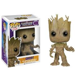 Guardians of the Galaxy 2 Toddler Groot Toy Figure Action Figures 9-11CM Funko Pop box Harry Potter Goku Spiderman Joker Game of Thrones