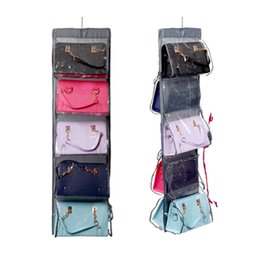 Hanging organizer 10 grids shoe bag hanging organizer display holder bag rake portable dustproof breathable bag organizer